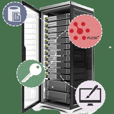 server dedicado plesk